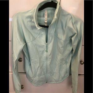 Barely worn lulu lemon active jacket in mint green